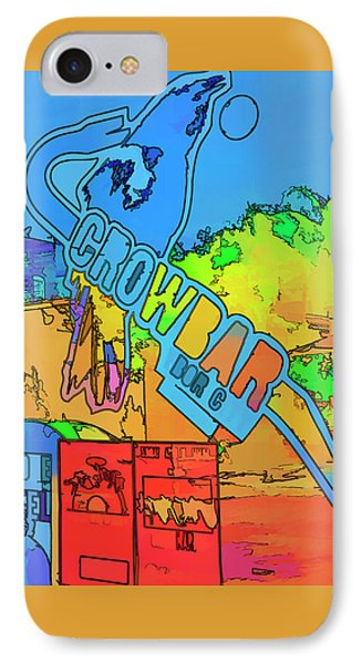 The Crowbar Ybor City IPhone Case by Marvin Spates