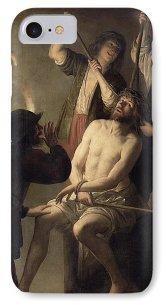 The Crowning With Thorns IPhone Case by Jan Janssens