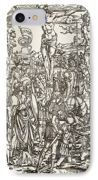 The Crucifixion By Master I.b IPhone Case