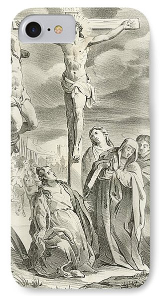 The Crucifixion IPhone Case by Hendrik van the Elder Balen