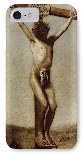 The Crucifixion IPhone Case by Thomas Eakins