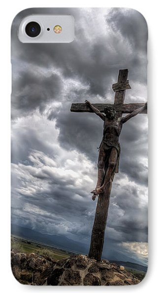 The Crucifixtion IPhone Case by Lena Sandoval-Stockley