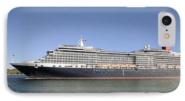 IPhone Case featuring the photograph The Cruise Ship Queen Victoria by Bradford Martin