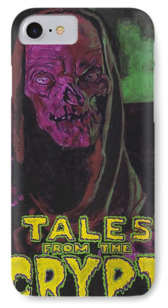 Tales From The Crypt With Text Logo Trademark IPhone Case