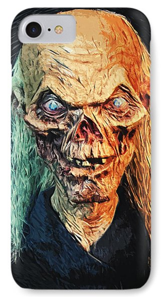 The Crypt Keeper IPhone Case by Taylan Apukovska