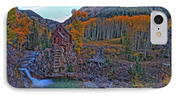 IPhone Case featuring the photograph The Crystal Mill by Scott Mahon