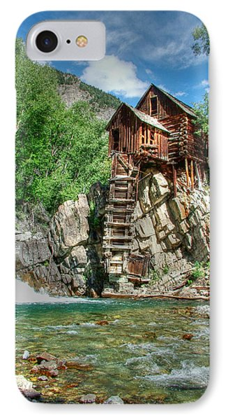 The Crystal Mill In Crystal Colorado Phone Case by Ken Smith