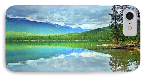 IPhone Case featuring the photograph The Crystal Waters Of Lake Annette by Tara Turner