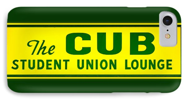 The Cub - Baylor IPhone Case by Stephen Stookey