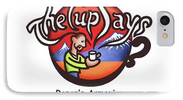 The Cup Says Logo IPhone Case by Renee Womack