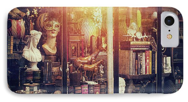 The Curiosity Shop IPhone Case by Tim Gainey