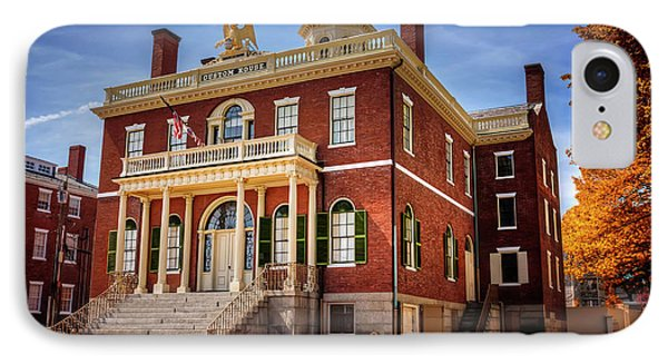 The Custom House Salem Massachusetts  IPhone Case by Carol Japp