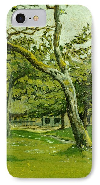 The Customs Hut In The Morning Phone Case by Claude Monet