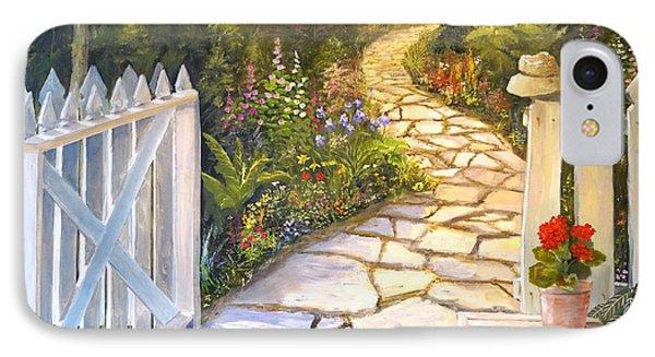 The Cutting Garden IPhone Case by Alan Lakin