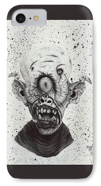 The Cyclops IPhone Case by Wave Art