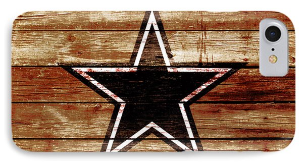 The Dallas Cowboys 4c                              IPhone Case by Brian Reaves