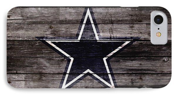 The Dallas Cowboys 4w IPhone Case by Brian Reaves