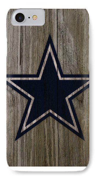 The Dallas Cowboys C4                             IPhone Case by Brian Reaves