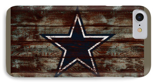 The Dallas Cowboys D1                             IPhone Case by Brian Reaves