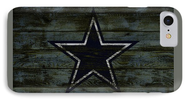 The Dallas Cowboys D2                              IPhone Case by Brian Reaves