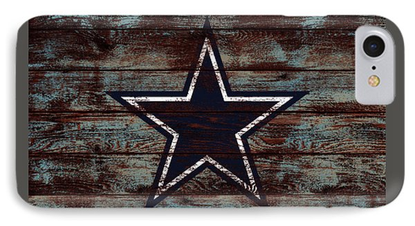 The Dallas Cowboys D4                             IPhone Case by Brian Reaves
