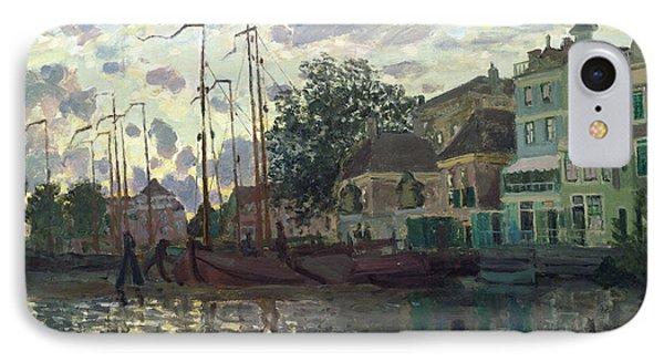 The Dam At Zaandam Phone Case by Claude Monet