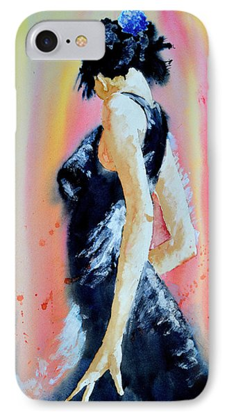 IPhone Case featuring the painting The Dance by Steven Ponsford