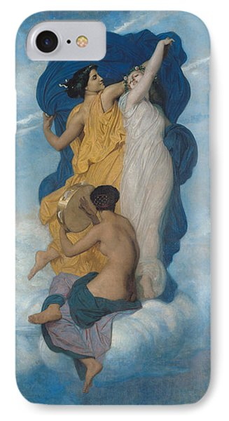 The Dance Phone Case by William-Adolphe Bouguereau