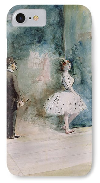 The Dancer IPhone Case by Jean Louis Forain