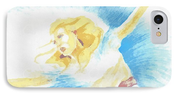 The Dancer IPhone Case by Mario Carini