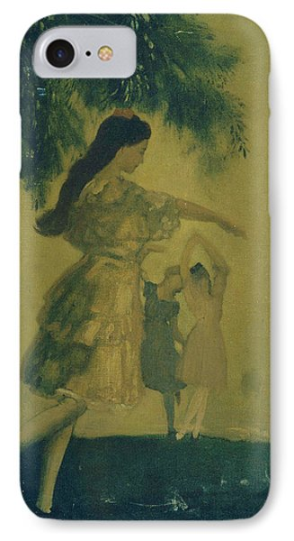 The Dancers IPhone Case by Arthur Bowen Davies