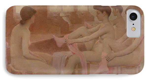 The Dancers IPhone Case by Fernand Pelez