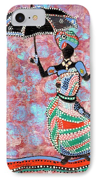 The Dancing Lady IPhone Case by Connie Valasco