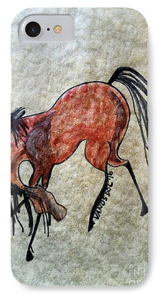 The Dancing Pony IPhone Case by Scott D Van Osdol