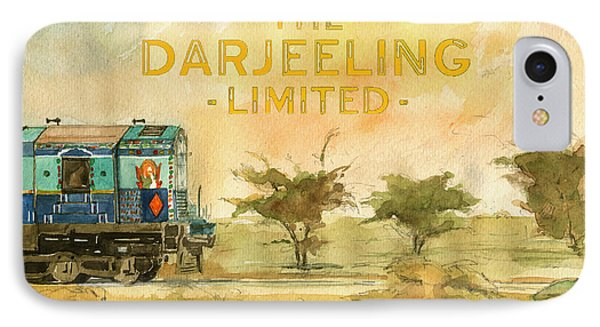 The Darjeeling Limited Poster Film Wes Anderson IPhone Case