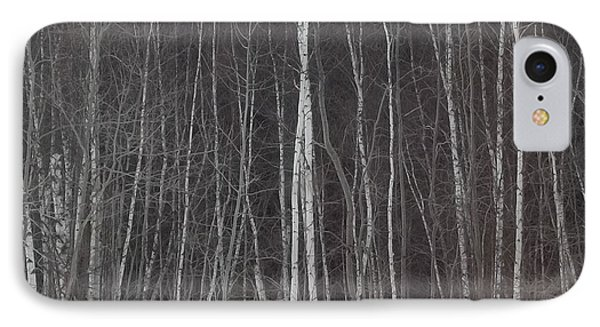 IPhone Case featuring the photograph The Dark Beyond The Trees by Jackie Mueller-Jones