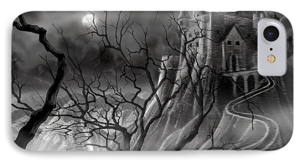 The Dark Castle IPhone Case by James Christopher Hill