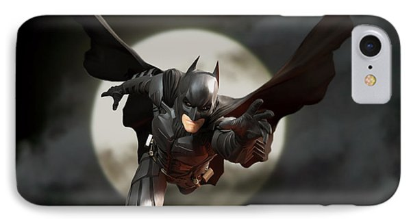 The Dark Knight IPhone Case by Paul Tagliamonte