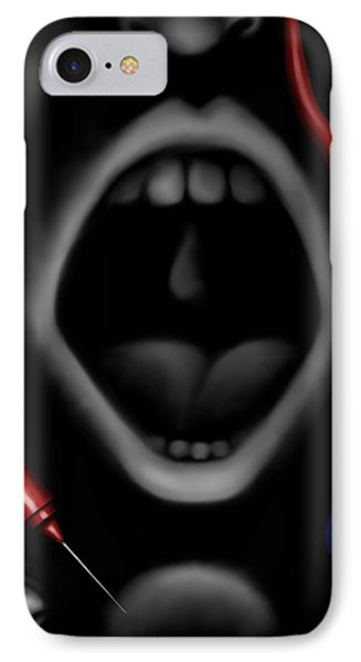 The Dark Place IPhone Case