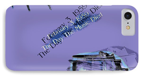 The Day The Music Died - Feb 3 1959 IPhone Case