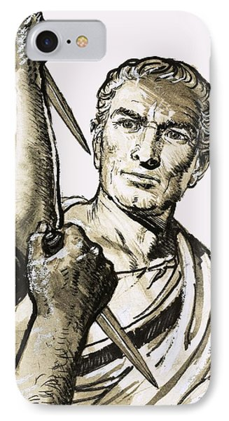The Death Of Caesar IPhone Case by English School
