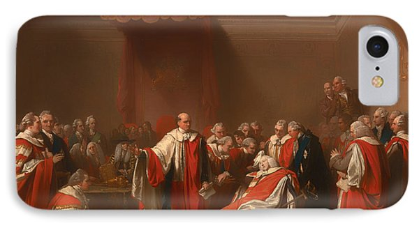 The Death Of Chatham - William Pitt 1st Earl Of Chatham IPhone Case by Mountain Dreams