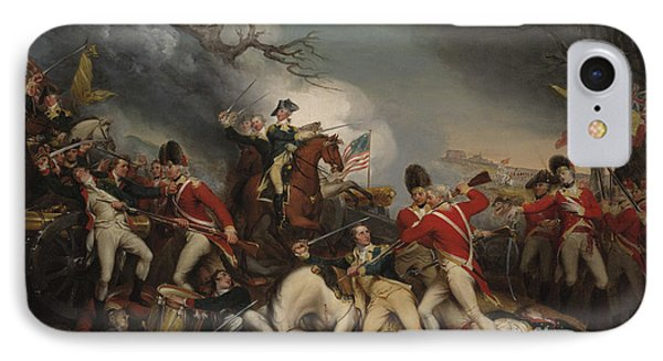 The Death Of General Mercer At The Battle Of Princeton, January 3, 1777  IPhone Case by John Trumbull