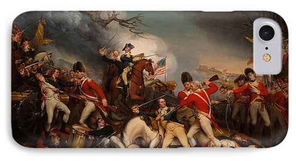 The Death Of General Mercer At The Bottle Of Princeton IPhone Case