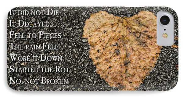 The Decay Of Heart IPhone Case