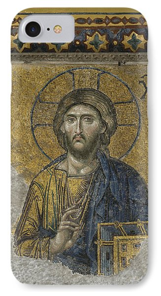 The Dees Mosaic In Hagia Sophia Phone Case by Ayhan Altun