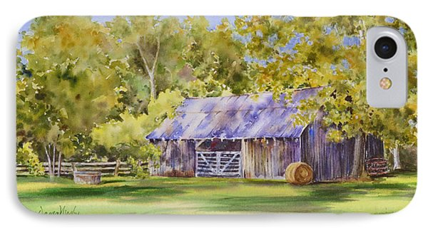 The Delaune Barn IPhone Case by Dana Mosby