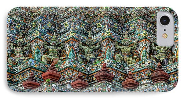 The Demons Of The Temple IPhone Case by Michelle Meenawong