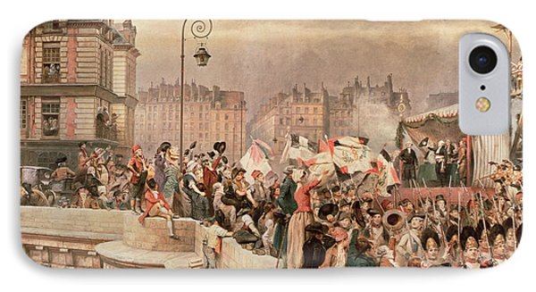 The Departure Of The Volunteers 1792 IPhone Case