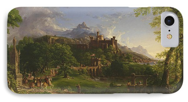 The Departure IPhone Case by Thomas Cole